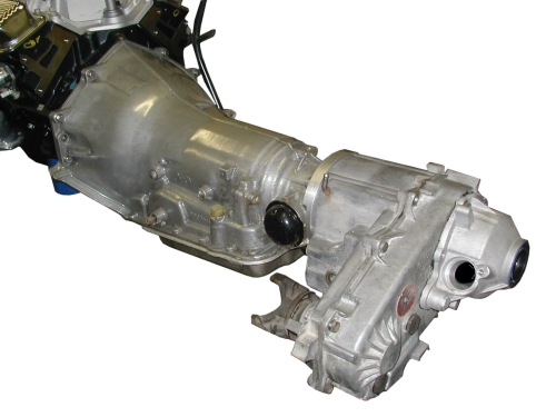 Chevy V8 with the TH-700R4 Adapted to the Jeep NP-231 transfer case