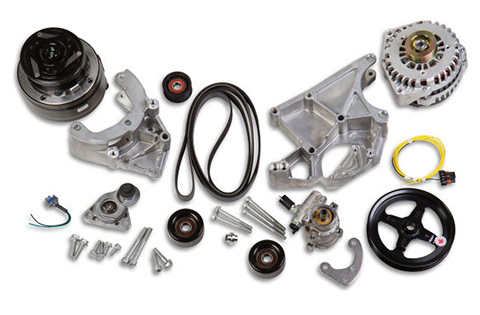Holley Engine Acessory Relocation Assembly For Gm