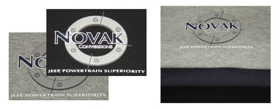 Novak T-Shirt Colors Detail