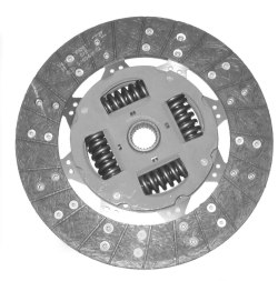 A clutch friction disc