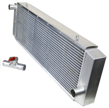 3 ROW ALUMINUM RADIATOR FOR 1984-2001 JEEP CHEROKEE COMANCHE 2.5 4.0L CROSS FLOW