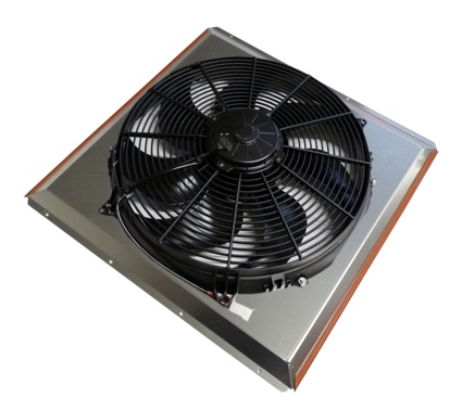 Integrated, Shrouded Electric Fans