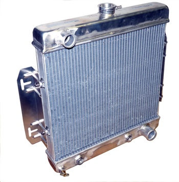Early CJ conversion radiator