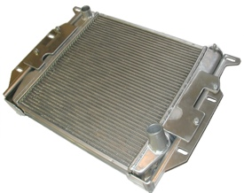 The Novak Radlock aluminum radiator for engine conversions