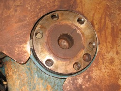 Early AMC V8 crank flange