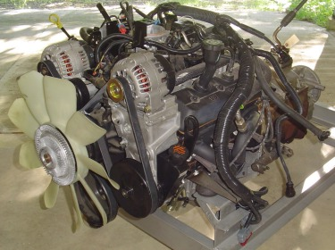 the novak guide to installing chevrolet gm engines into the jeep engine placement vortec v6 complete a novak customer s vortec v6 engine