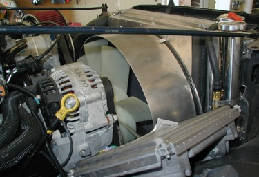 An excellent fan shroud for this Jeep