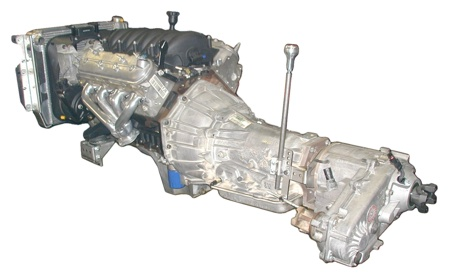 An integrated Jeep powertrain