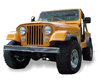 the novak guide to installing chevrolet \u0026 gm engines into the jeep Jeep Commando Wiring Harness jeep cj universals, 1980 1986 85_cj_front