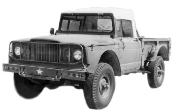 Adapting Chevrolet V8 Engines to the Kaiser Jeep M7xx Trucks on
