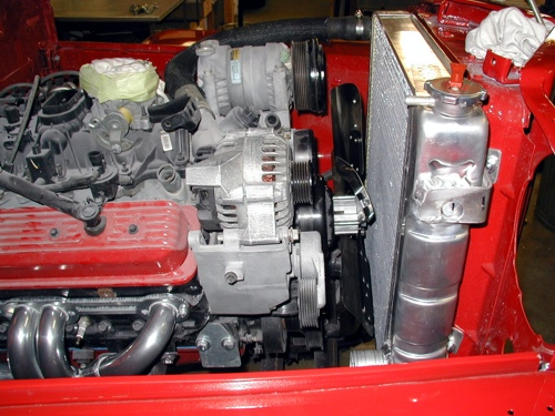 Utility Jeep radiator clearance