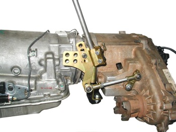 Jeep transfer case shifter