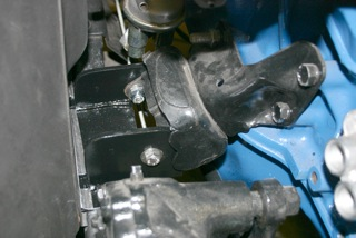 Pinto to Jeep engine mount