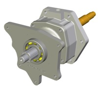 A digital model of our 4L60E adapter