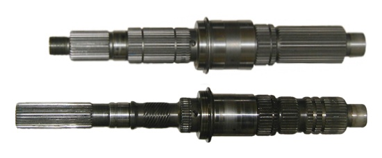 231 transfer case output shaft comparison