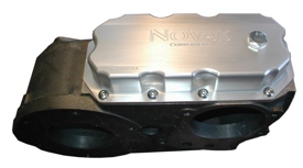 Dana 300 bottom cover pan in billet