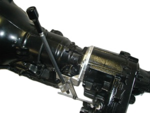 Turbo Hydramatic TH-350 adapted to the Jeep NP-231