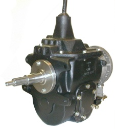A Muncie SM-420 with the adapter assembly
