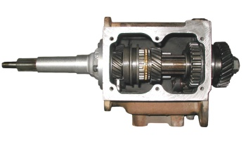 A top view of a T-90 gear box