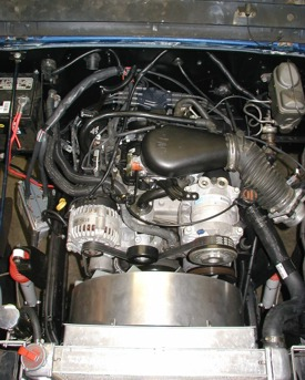vortec_v6_in_cj the novak guide to installing chevrolet & gm engines into the jeep Wiring Harness Jeep TJ Grill at n-0.co